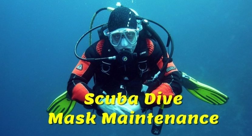 It's simple to take care of your dive mask with some basic maintenance tips. And once you are underwater, there's not much more annoying than a mask that constantly fogs up.