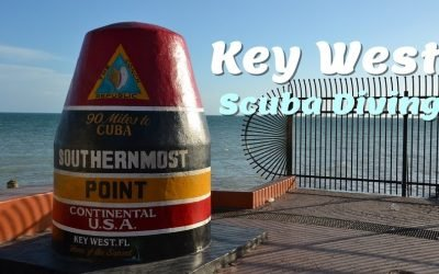 One of the most popular places for scuba diving in the US is Key West located right off the coast of Southern Florida.