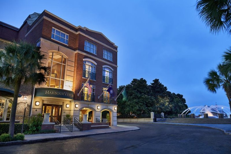 Harbourview Inn. Overlooking Historic Charleston Harbor and Waterfront Park