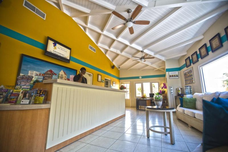 Another and final point is how good, willing, and cheerful the staff at the Royal Sea Aquarium Resort Curacao are, and that is what really makes for a great Curacao Vacation in a great Curacao beach resort.