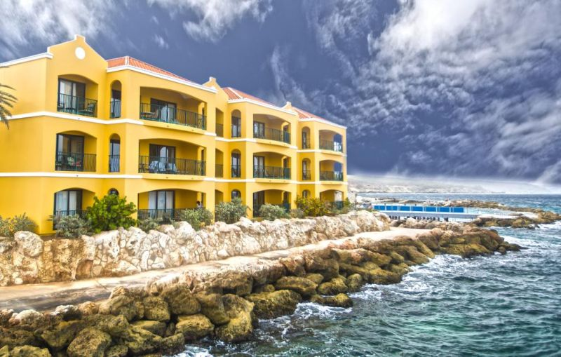 The Royal Sea Aquarium Resort Curacao is a good resort for a family vacation, especially teenagers, because of the pools, the great beach, and especially if you book a room with a kitchen to feed their hungry expensive mouths.
