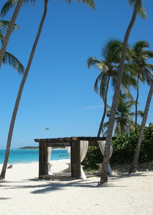 Several Caribbean vacation tourist spots are available at the Dominican Republic as well. It is located west of Puerto Rico.