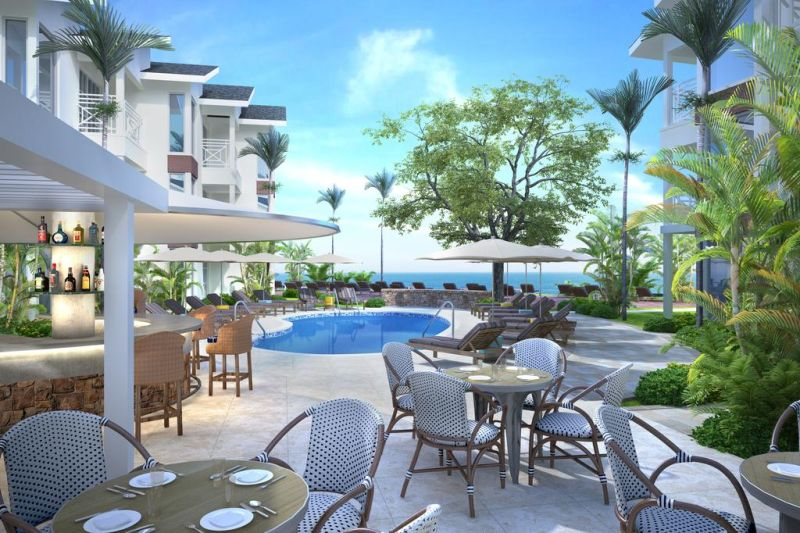 Treasure Beach by Elegant Hotels is located in Saint James. It is located right on the beach and features modern suites with free daily breakfast.