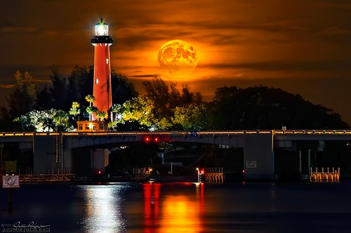 Jupiter Florida. From here down I-95 there are many coastal towns dotted along the way; Jupiter is one of note