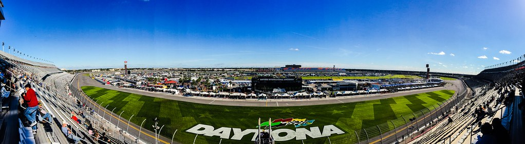Daytona international Speedway. Our next stop would have to be Daytona, Home of the world renowned Daytona international Speedway.
