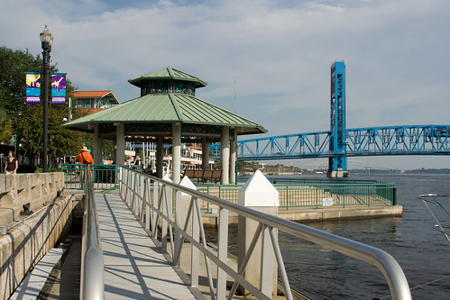 Jacksonville Landing is the place to party on the river. You can eat drink and, in general, be merry.