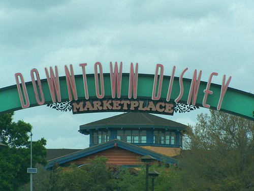 Downtown Disney and Team Disney. Disney has 4 theme parks there several resorts, two water parks and Downtown Disney a shopping, dining and entertainment venue.