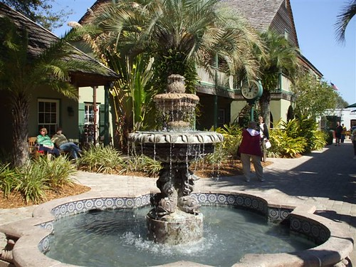In Saint Augustine, you can walk down St. George Street to see some of the oldest buildings from the old world.