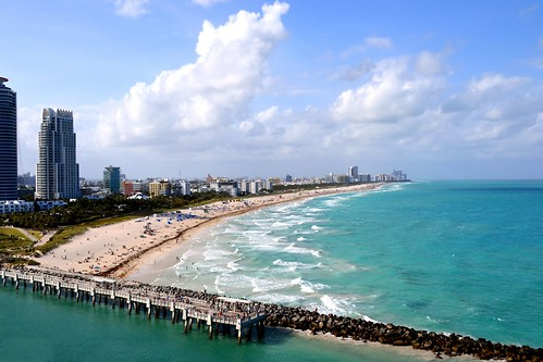 Miami Beach. The people of Miami are a mix of people from all over the Latin world