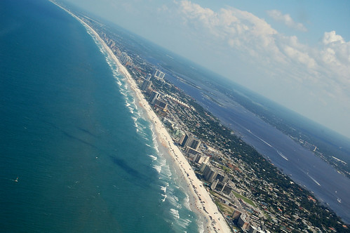 Daytona Beach is one of the most famous beaches in the world; and is home to Bike Week and Octoberfest.