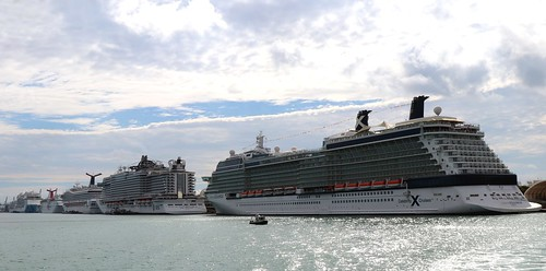 Miami Cruise Port. They have a port there where you can leave for a fabulous Caribbean Cruise
