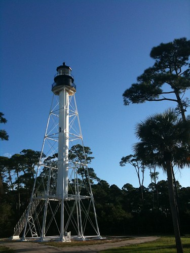 Cape San Blas Lighthouse. The current lighthouse draws in thousands of visitors a year.
