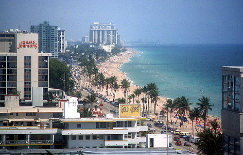 Ft Lauderdale. Fort Lauderdale is next down I-95 and was once known as THE place to come for Spring Break.