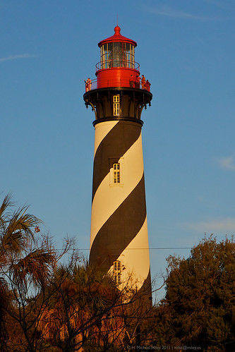 St. Augustine Lighthouse. They have a famous lighthouse there that recently has been listed as haunted, if you believe.