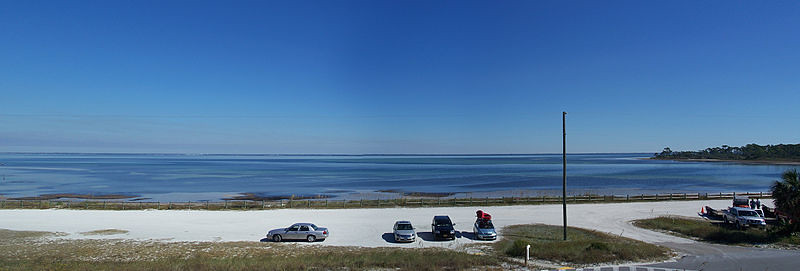 St. Joseph Peninsula State Park. St. Joseph's Bay, this is what is referred to as Florida's Forgotten Coast.
