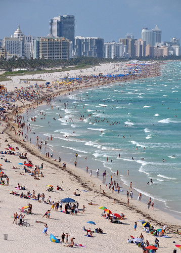 South Beach in Miami, Florida is the place that that can beat the rest.