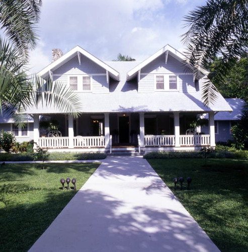 Henry Ford home at the Edison-Ford Winter Estates: Fort Myers, Florida