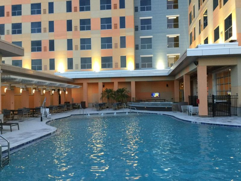 Hyatt House across from Universal Orlando Resort is conveniently located a 3 minutes' drive from Universal Orlando Resort.