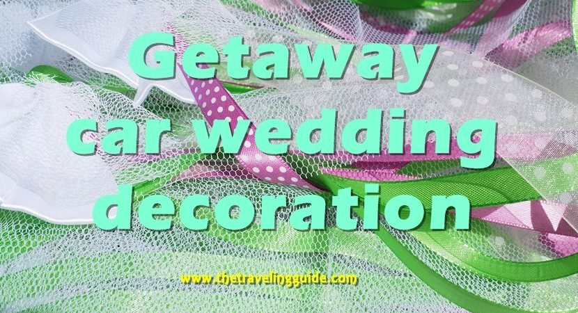 Car wedding decoration. Limousine services are almost a necessity when it comes to weddings.