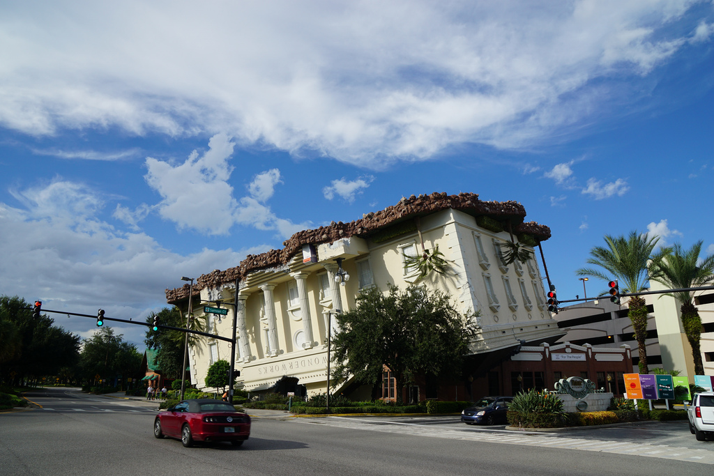 """Another unique and fantastical experience in Florida is Wonderworks, billed as """"Orlando's only upside-down attraction!"""""""