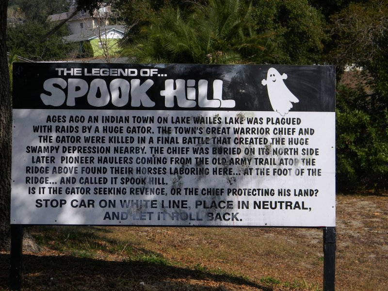 If you need something a little spookier to get you out of your Florida family hotels and motels, then travel to Lake Wales.