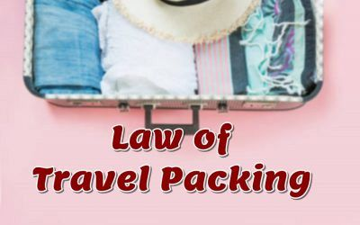 Light travel packing only qualifies if you are traveling in the summer and do not need too many clothes.