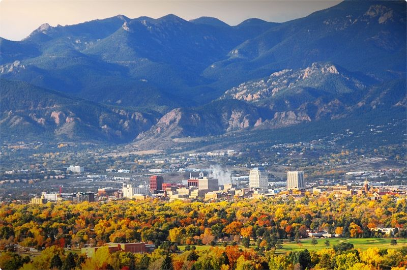 Cycling Colorado. The Palmer Park at Colorado Springs is a location that provides different cycling trail types. You have the chance to choose which one is best for your own capacity when it comes to this sport.