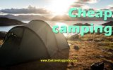 Camping on a Budget. Many seem to fear the camping holiday and all it has to offer however with a little careful planning and an open mind you could soon find yourself creating some fantastic memories. #camping