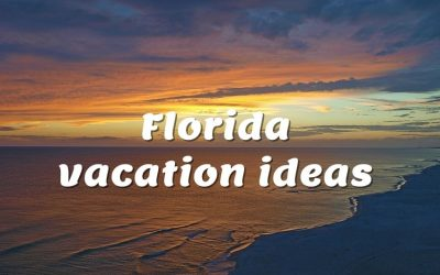 While a day spent at an amusement park is an unforgettable way to spend a day in the Sunshine State, a Florida vacation also offers a world of ecotourism adventures to explore.