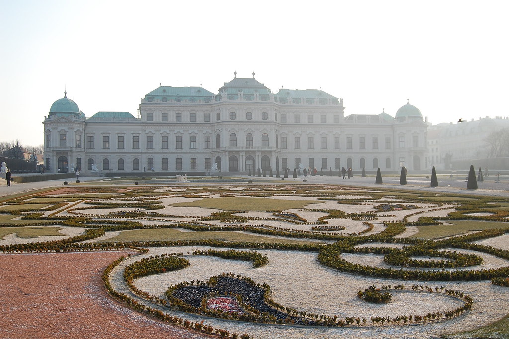 Belvedere Vienna. Belvedere gives a variety of art both in the buildings and on the grounds. The Gustinus Ambrosi Museum contains sculptures both in Augarten and in the Atelier Park.