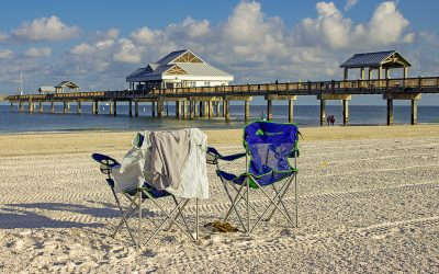 Clearwater Beach stretches for over five uninterrupted miles which includes Caledesi Island